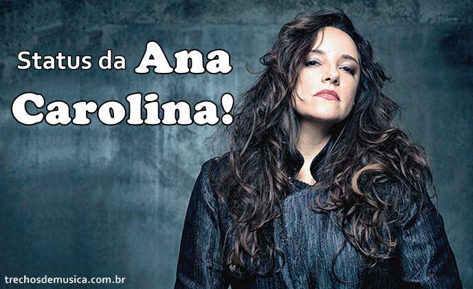 Frases De Ana Carolina Trechos De Músicas