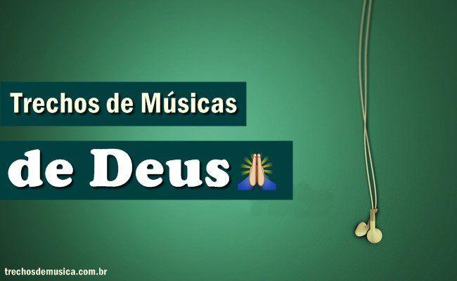 Frases De Deus Trechos De Músicas