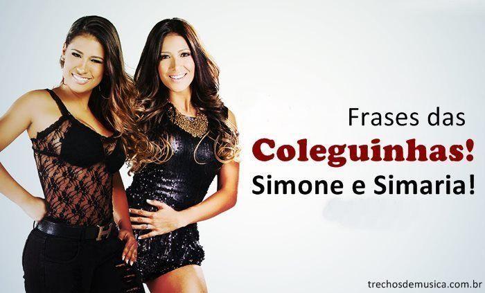Frases De Simone E Simaria Trechos De Músicas