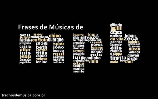 Frases De Músicas De Mpb Trechos De Músicas