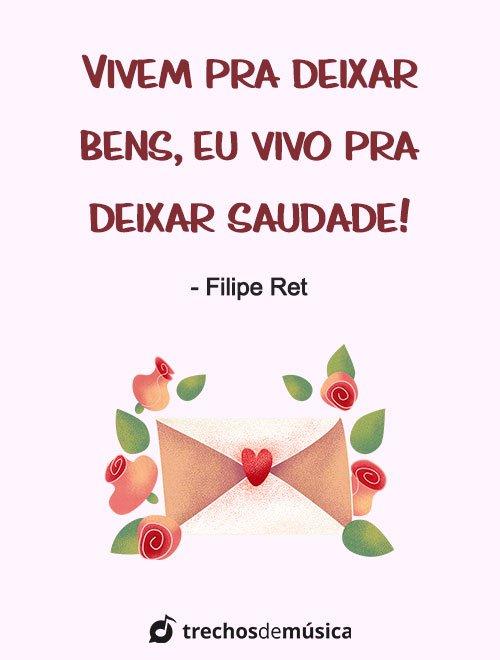 Frases de Filipe Ret para Refletir sobre a Vida 2