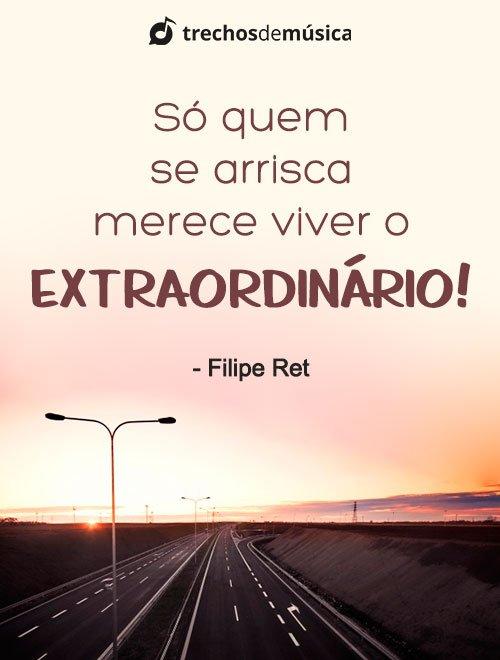 Frases de Filipe Ret para Refletir sobre a Vida 3