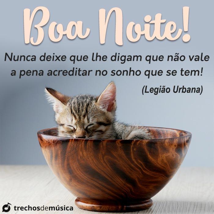 Boa Noite! Acredite nos seu Sonhos