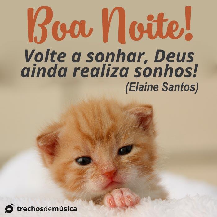 Boa Noite! Confie em Deus