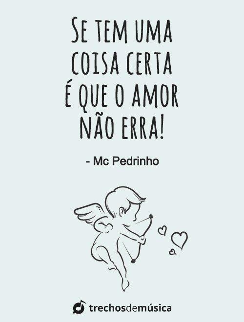 Frases de MC Pedrinho para Legendas e Status 4