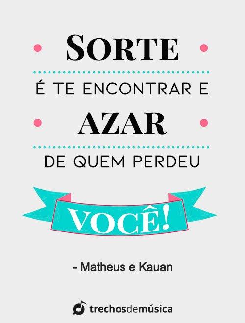Frases de Matheus e Kauan 1