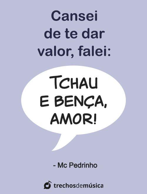 Frases de MC Pedrinho para Legendas e Status 1