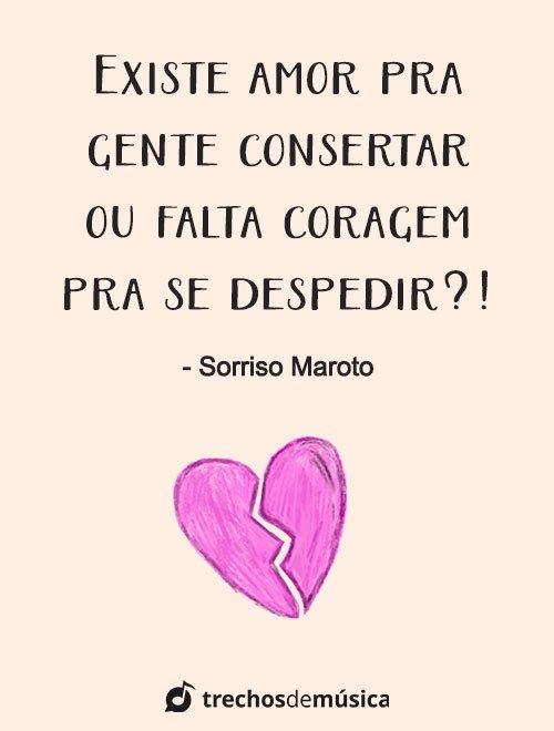 Frases de Sorriso Maroto cheias de Amor 4