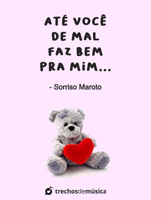 Frases de Sorriso Maroto cheias de Amor 5