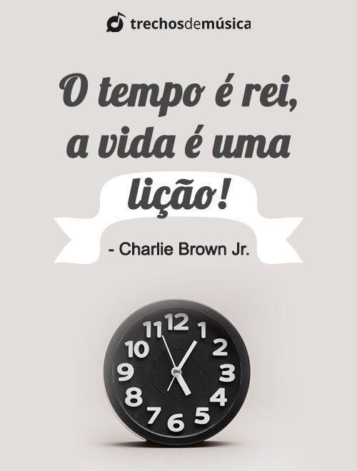 Frases de Charlie Brown Jr. para Status e Legendas 3